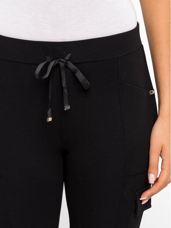 Liu Jo Sport Liu Jo Sport Spodnie dresowe T69099 J5791 Czarny Regular Fit