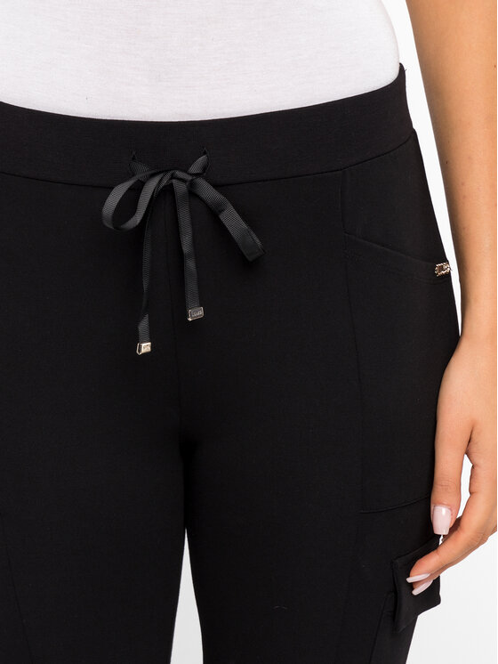 Liu Jo Sport Liu Jo Sport Teplákové kalhoty T69099 J5791 Černá Regular Fit