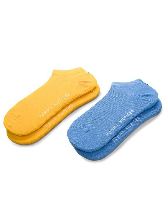 Tommy Hilfiger Tommy Hilfiger Vaikiškų trumpų kojinių komplektas (2 poros) 301390 Mėlyna