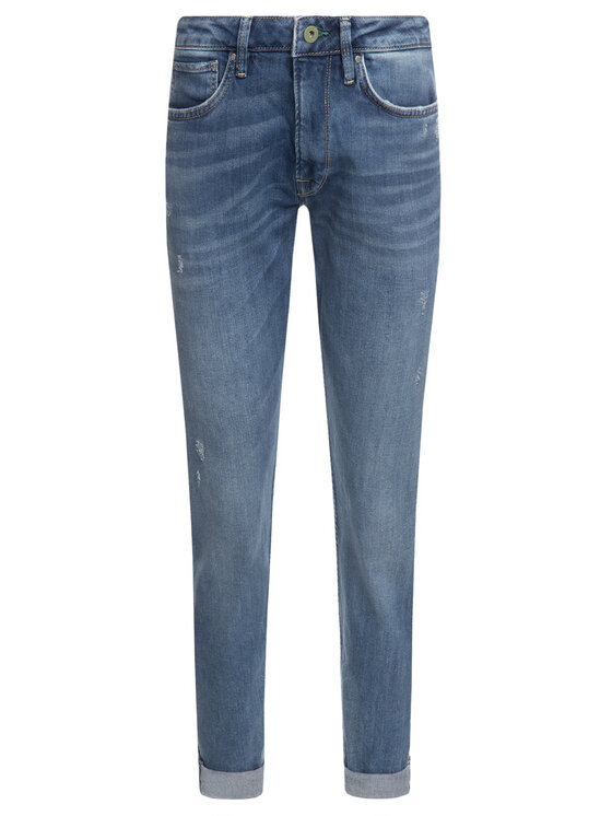 Pepe Jeans Pepe Jeans Boyfriend džinsai Brigde PL203610WF5 Mėlyna Taper Fit