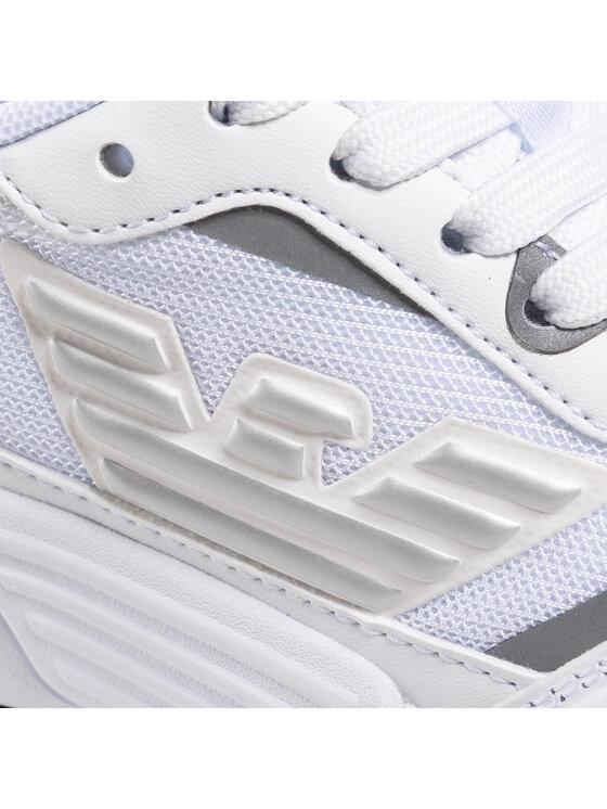 EA7 Emporio Armani EA7 Emporio Armani Sneakersy XSX012 XOT31 00175 Biały