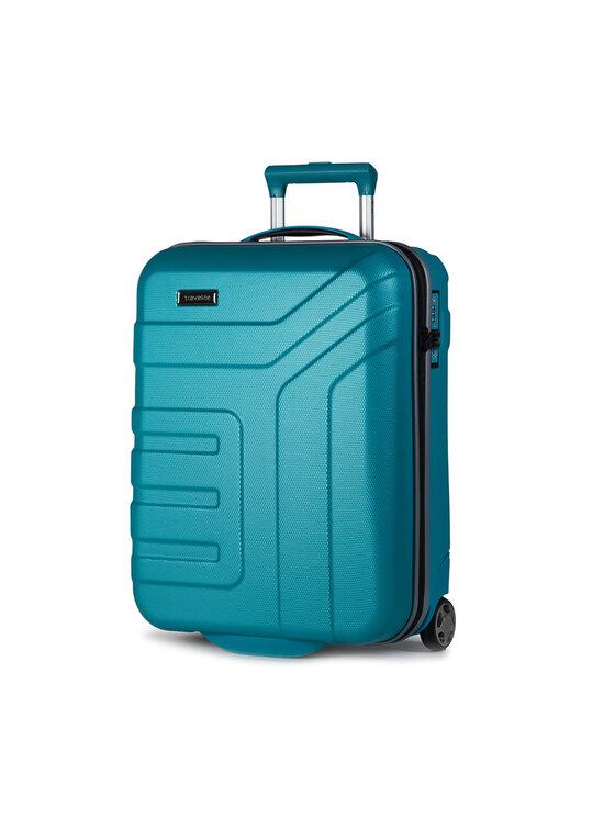 Travelite Mažas Kietas Lagaminas Vector 72007-21 Mėlyna