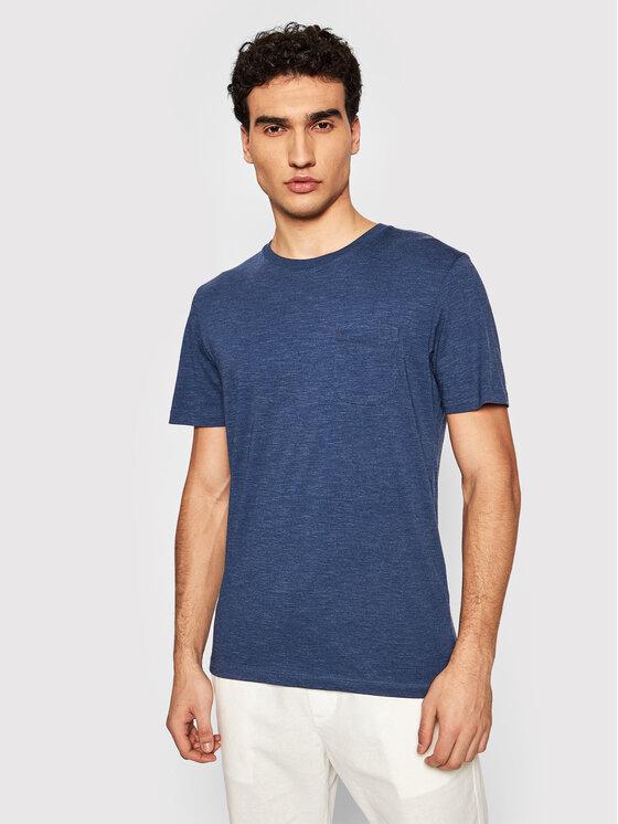 Jack&Jones PREMIUM Marškinėliai Bludexter 12183543 Mėlyna Regular Fit