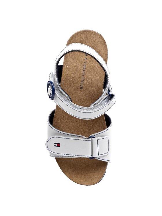 TOMMY HILFIGER TOMMY HILFIGER Sandále Pisa 2A FG56818979 Biela