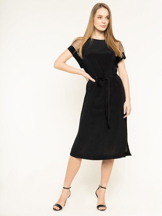 Escada Sport Kokteilinė suknelė Dymala 5031890 Juoda Regular Fit