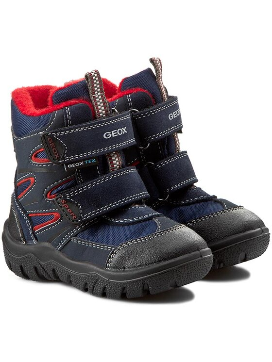 Geox Geox Μπότες Χιονιού B Frosty Boy Wpf C B44D7C 0AU11 C0735 Μπλε
