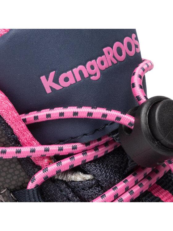 KangaRoos KangaRoos Šnurovacia obuv Traiker Mid Rtx 18385 000 4204 S Tmavomodrá