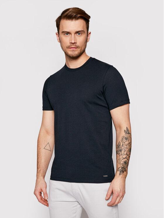Roy Robson Marškinėliai 4830-90 Tamsiai mėlyna Regular Fit