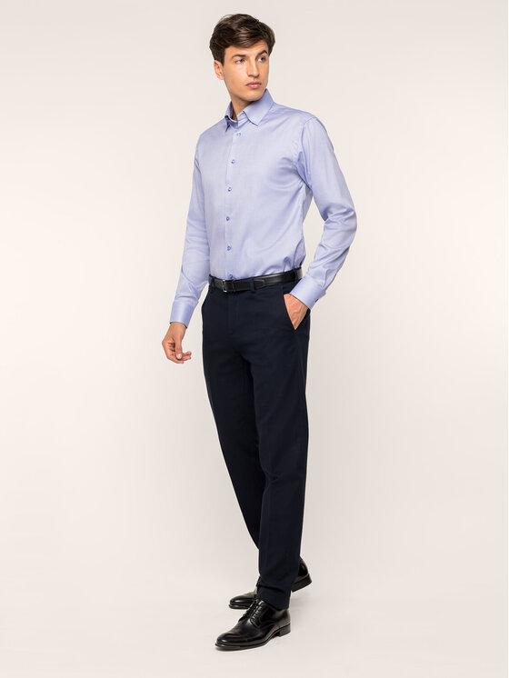 Eton Marškiniai 100000242 Violetinė Slim Fit