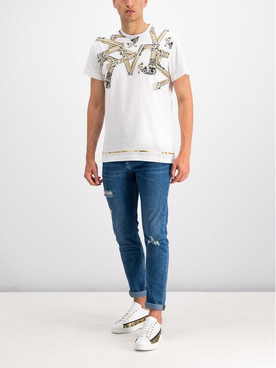 Versace Jeans Versace Jeans T-shirt B3GTB72D Bianco Regular Fit