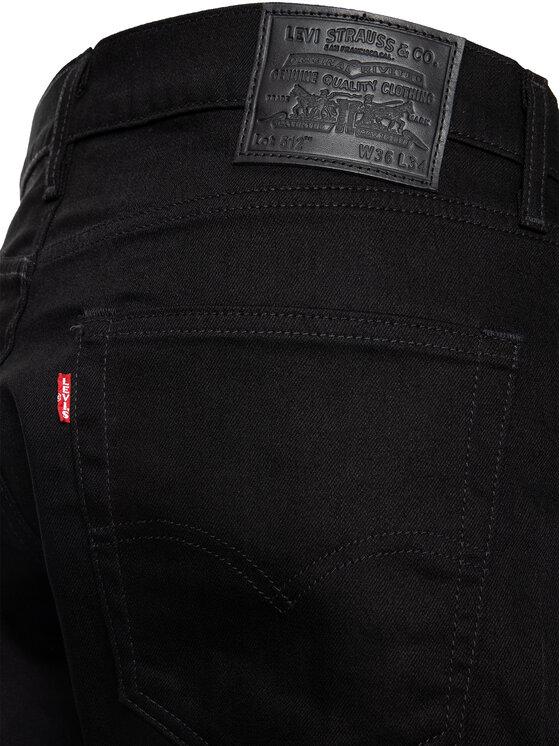 Levi's® Levi's® Farmer 512™ 28833-0013 Fekete Slim Taper Fit