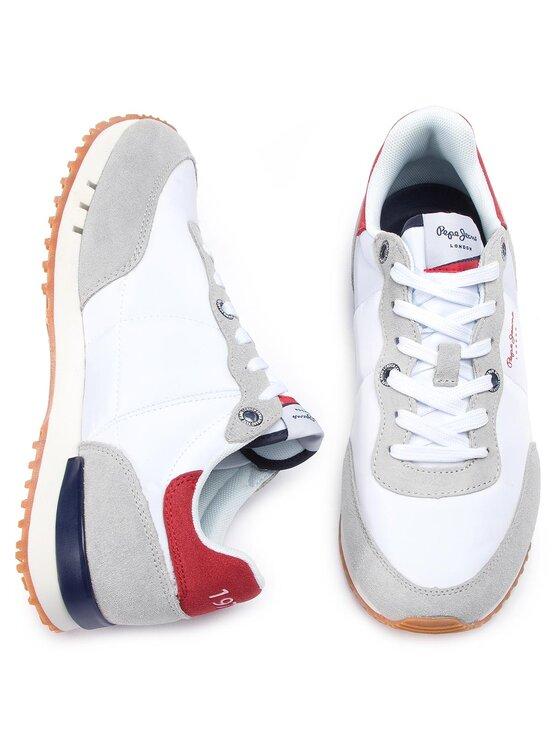 Pepe Jeans Pepe Jeans Αθλητικά Tinker Basic Nylon PMS30505 Λευκό