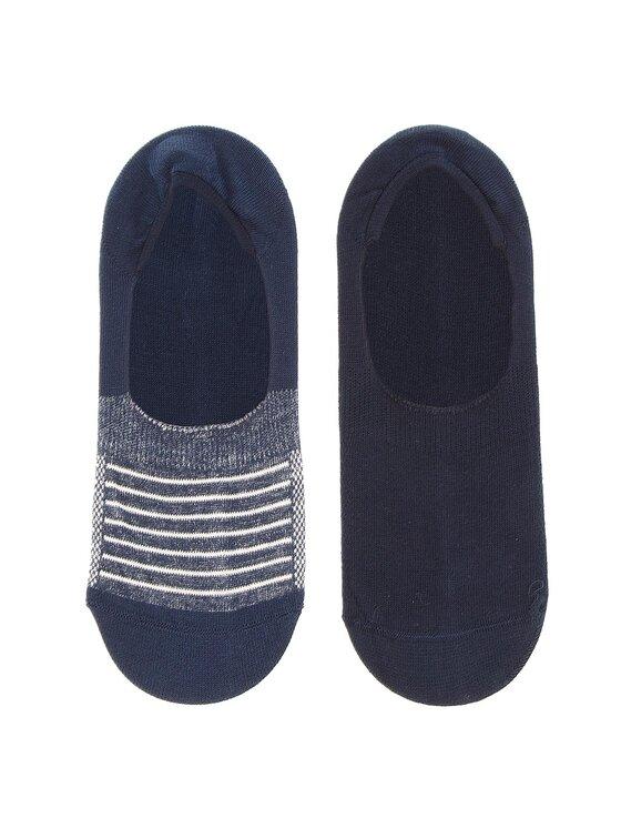Levi's® Levi's Σετ 2 ζευγάρια κάλτσες σοσόνια unisex 973001001 Σκούρο μπλε