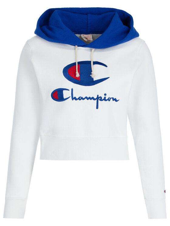 Champion Champion Mikina 112534 WW001 Biela Regular Fit