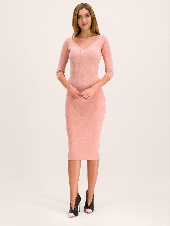 Elisabetta Franchi Elisabetta Franchi Vestito da giorno AM-35S-96E2-V269 Rosa Slim Fit