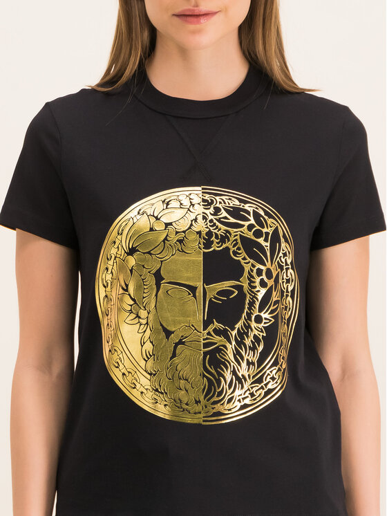 Versace Jeans Couture Versace Jeans Couture T-Shirt B2HVA7G0 Schwarz Regular Fit