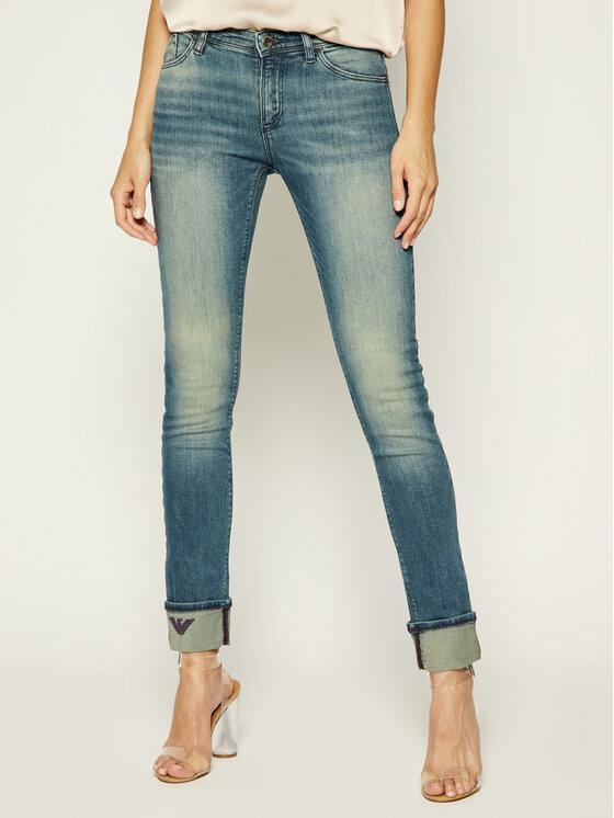 Emporio Armani Emporio Armani Skinny Fit Jeans 6G2J28 2D7CZ 0941 Dunkelblau Slim Fit