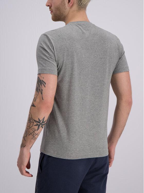EA7 Emporio Armani EA7 Emporio Armani T-Shirt 3GPT02 PJ03Z 3905 Szary Slim Fit