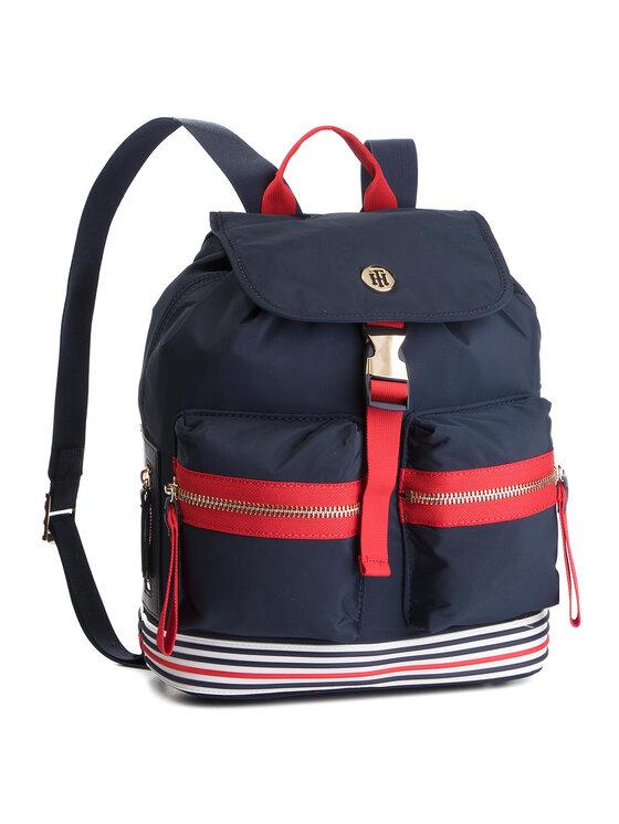 Tommy Hilfiger Tommy Hilfiger Plecak Youthful Nylon Mini Backpack AW0AW06436 Granatowy