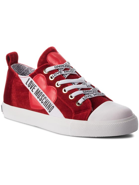 LOVE MOSCHINO LOVE MOSCHINO Sneakers JA15013G16IF050A Rouge