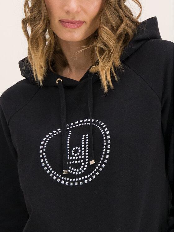 Liu Jo Sport Liu Jo Sport Sweatshirt Chiusa T69127 F0789 Schwarz Regular Fit