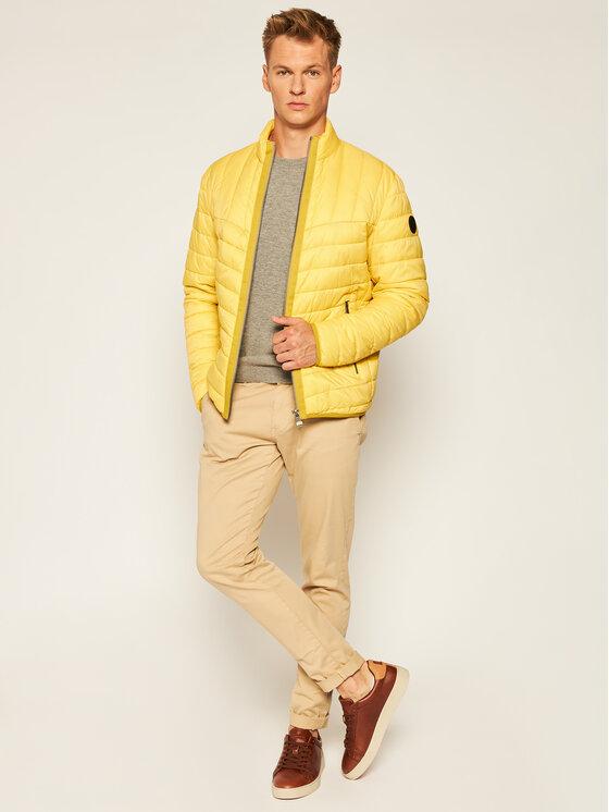 Joop! Jeans Joop! Jeans Vatovaná bunda 15 Jjo-91Giaco 30023309 Žlutá Regular Fit