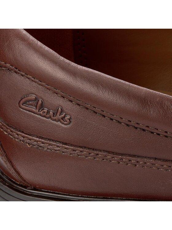 Clarks Clarks Félcipő Tilden Free 261103147 Barna