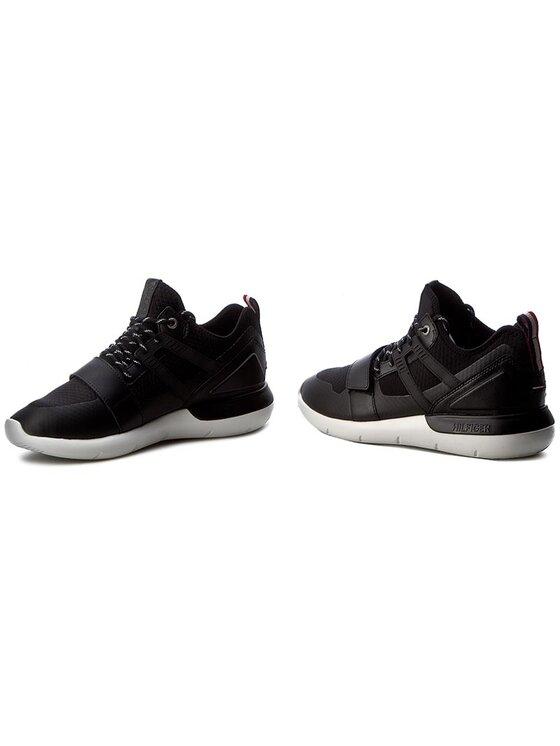 Tommy Hilfiger Tommy Hilfiger Sneakers DENIM Bolt 1C FM0FM00458 Noir