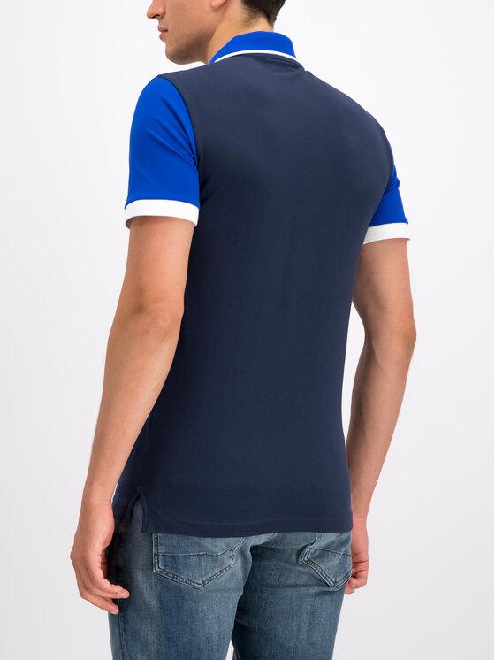 EA7 Emporio Armani EA7 Emporio Armani Polo marškinėliai 3GPF63 PJ04Z 1554 Tamsiai mėlyna Regular Fit