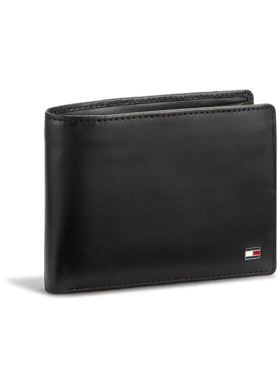 Tommy Hilfiger Tommy Hilfiger Duży Portfel Męski Formal Cc And Coin Pocket AM0AM01284 Czarny