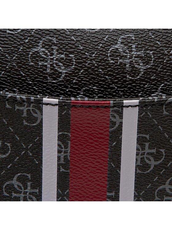 Guess Guess Handtasche College Logo Petite HWSG61 71700 Schwarz