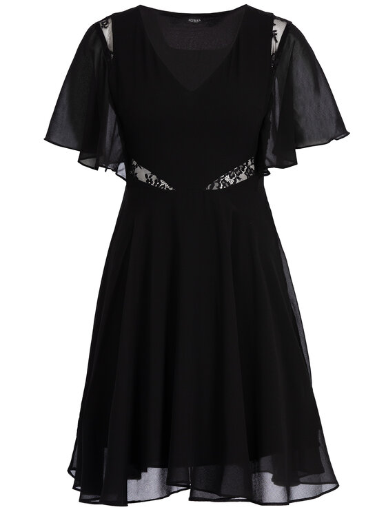 Guess Guess Nyári ruha W93K80 W8SL0 Fekete Regular Fit