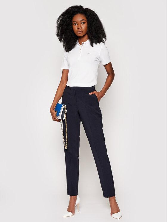 Tommy Jeans Tommy Jeans Polo marškinėliai Original DW0DW04434 Balta Regular Fit