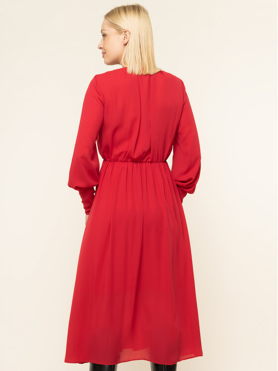 iBlues iBlues Coctailkleid 72262896200 Rot Regular Fit