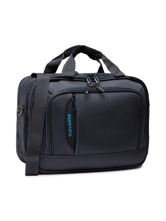 Travelite Travelite Torba na laptopa Crosslite Bordtasche 089504-04 Szary