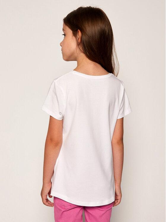 Guess Guess T-shirt K01I09 K9IY0 Blanc Regular Fit