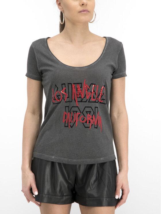 Guess Guess T-Shirt W92I74 K19U1 Szary Regular Fit
