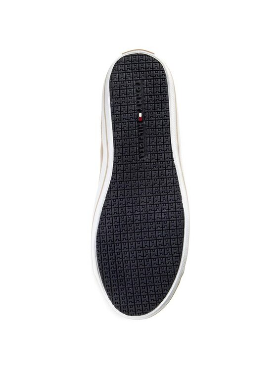 TOMMY HILFIGER TOMMY HILFIGER Πάνινα παπούτσια Victoria 2D FW56819051 Μπεζ