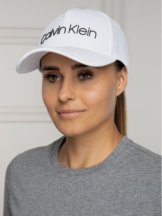 Calvin Klein Calvin Klein Καπέλο Jockey Silver Contrast Trucker Cap K50K504665 Λευκό