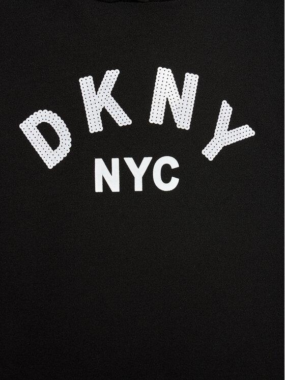 DKNY DKNY Haljina za svaki dan D32804 M Crna Regular Fit