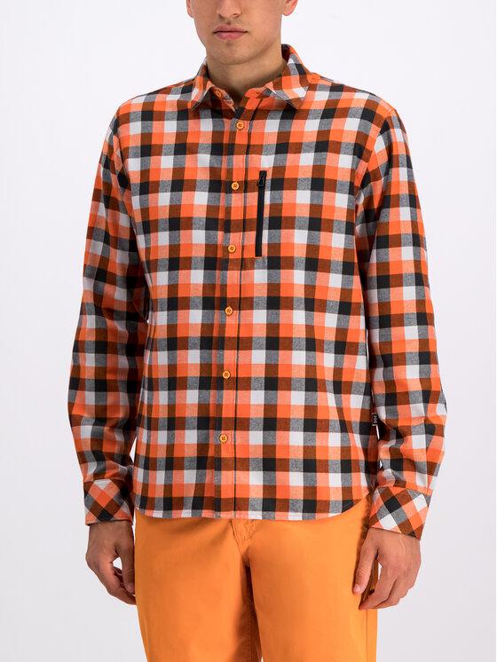 Helly Hansen Helly Hansen Koszula Lokka LS Shirt 62852 Pomarańczowy Regular Fit