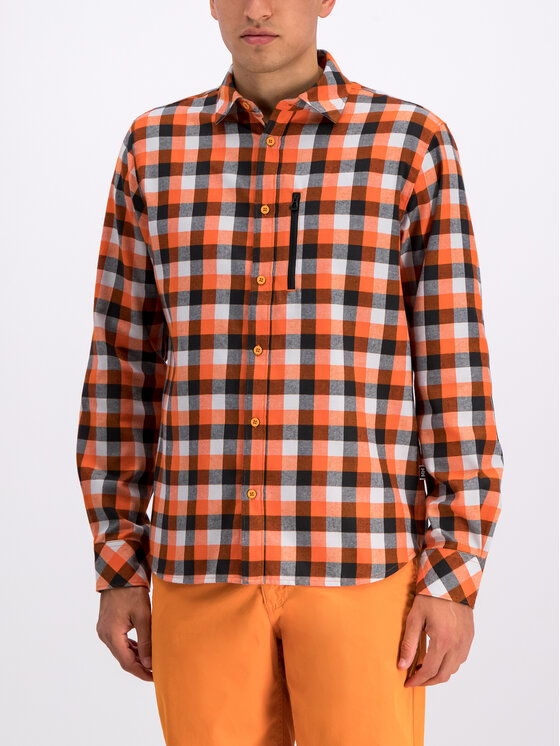Helly Hansen Helly Hansen Риза Lokka LS Shirt 62852 Оранжев Regular Fit