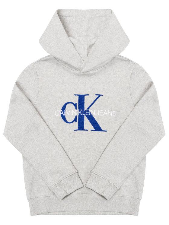 Calvin Klein Jeans Calvin Klein Jeans Bluza IB0IB00178 Szary Regular Fit