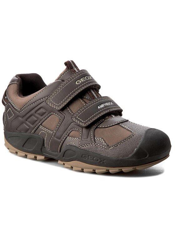 Geox Geox Chaussures basses J N. Savage B.B Abx A J641WB 011BC C0083 D Marron