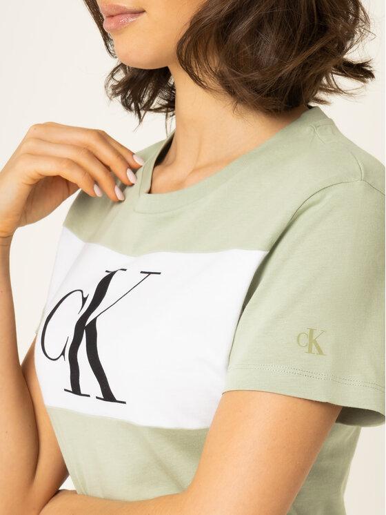 Calvin Klein Jeans Calvin Klein Jeans Тишърт J20J213183 Зелен Regular Fit