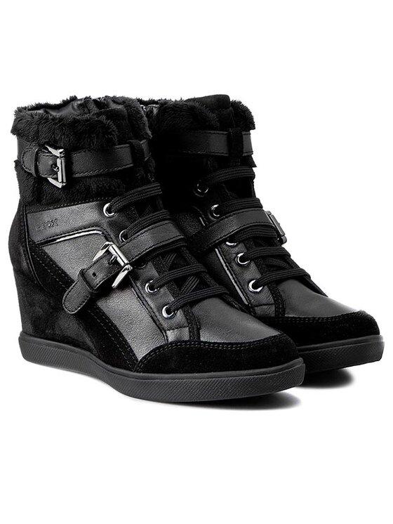 Geox Geox Sneakersy D Eleni D D5467D 04322 C9999 Černá