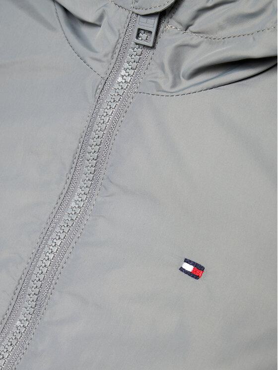 Tommy Hilfiger Tommy Hilfiger Kurtka przejściowa Essential Logo KB0KB06457 M Szary Regular Fit