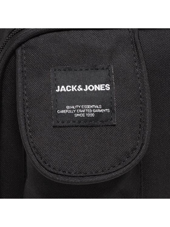 Jack&Jones Jack&Jones Saszetka Jacsquare Bumbag 12190582 Czarny