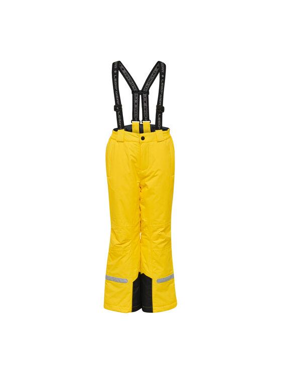 LEGO Wear LEGO Wear Spodnie narciarskie LWPlaton 709 21433 Żółty Regular Fit