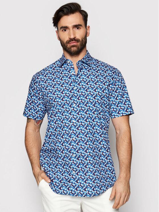 Pierre Cardin Marškiniai 5200/000/27407 Tamsiai mėlyna Modern Fit